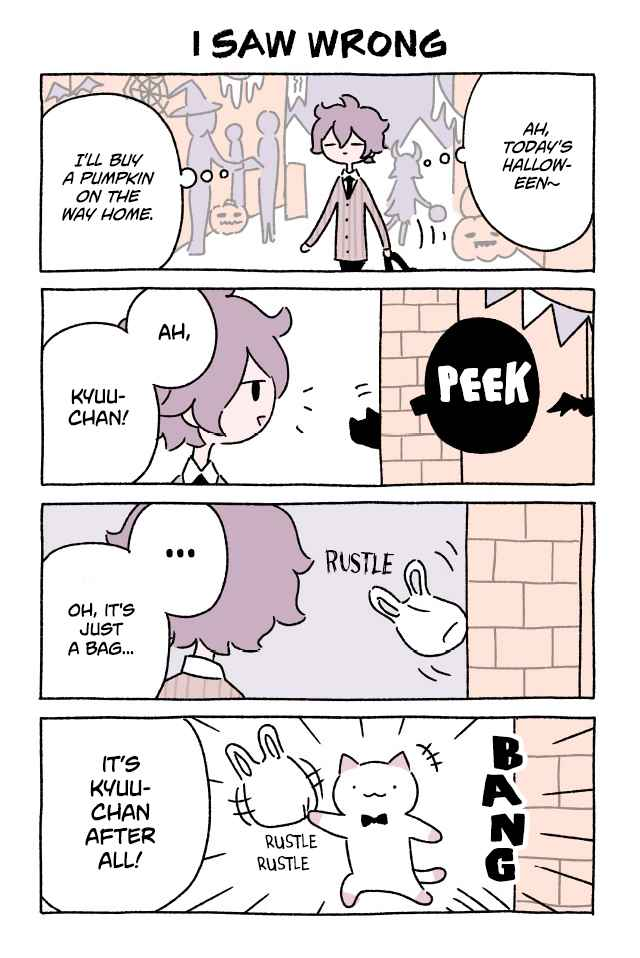 Wonder Cat Kyuu chan Ch. 198 I Saw Wrong