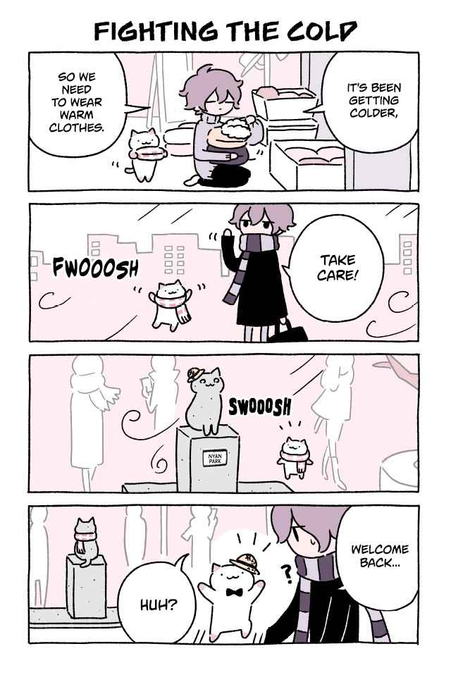 Wonder Cat Kyuu chan Ch. 211 Fighting the Cold